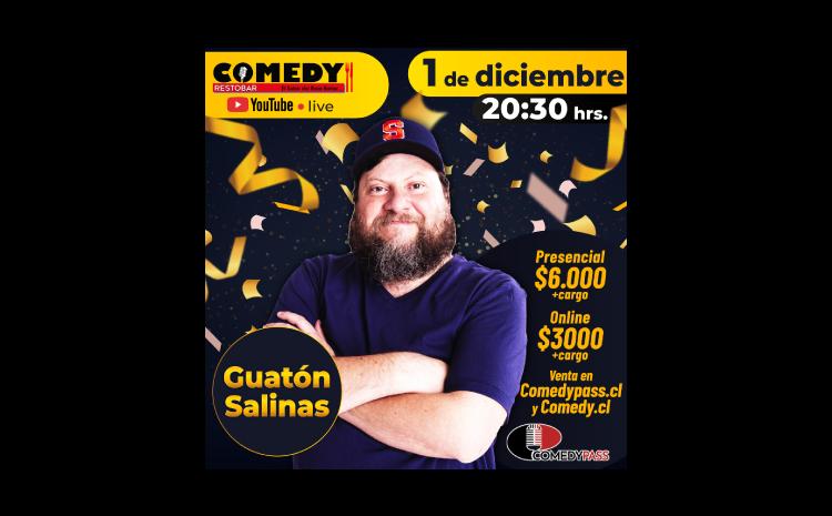 SALINAS COMEDY ONLINE 01 DE DICIEMBRE 20:30 HRS.