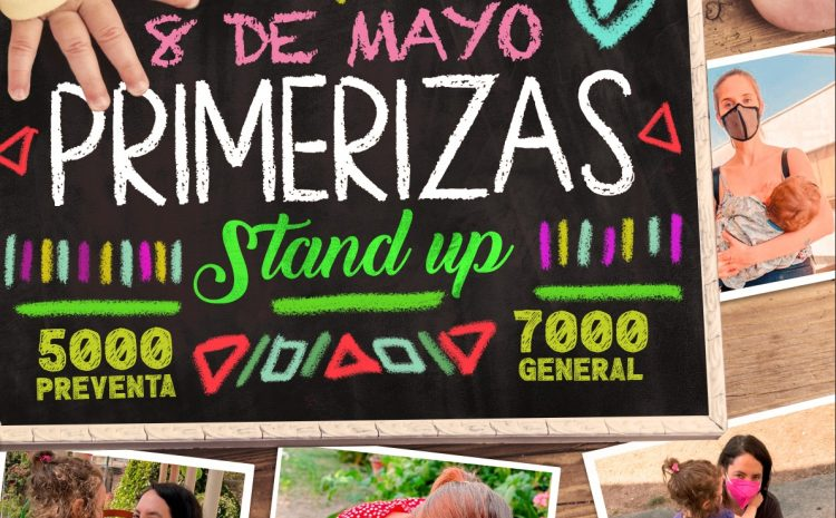 «Primerizas Stand Up» Chiqui Aguayo y Alison Mandel 8 de Mayo 21:00